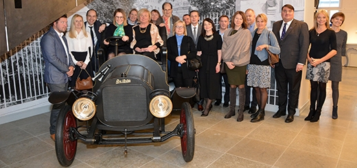 image: SCCE took a Premiere Tour of the Estonian Centennial Jubilee Exhibition My Free Country