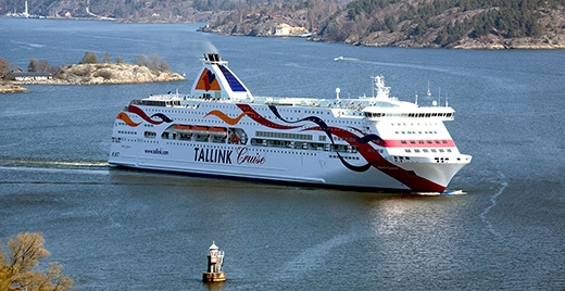 image: Limited sea traffic between Tallinn and Stockholm from 26 August