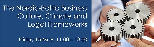 image: Business Brunch:  The Nordic-Baltic Business Culture, Climate and Legal Frameworks