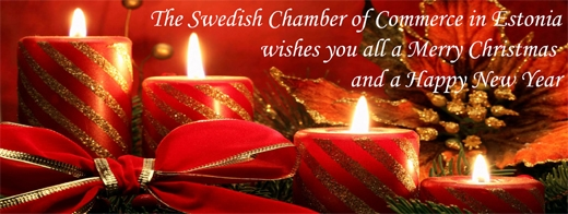 image: The Swedish Chamber of Commerce in Estonia wishes you all a Merry Christmas and a Happy New Year!