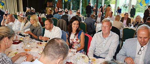 The Autumn Business Season Kick-Off: SCCE's Crayfish Party 2018