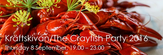 image: SCCE's Kräftskiva/The Crayfish Party 2016