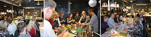 image: Cooking and Enjoying a Festive Dinner for Estonia's 97th Anniversary