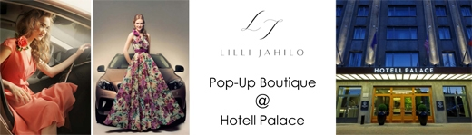 image: The next edition of Lilli Jahilo pop-up boutique will take place at Hotel Palace in Tallinn, Estonia.