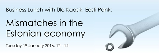 image: Business Lunch: Mismatches in the Estonian economy