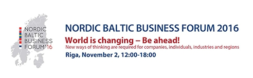 image: NORDIC BALTIC BUSINESS FORUM 2016