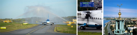 image: Estonian Air now also flies to Bromma Stockholm Airport