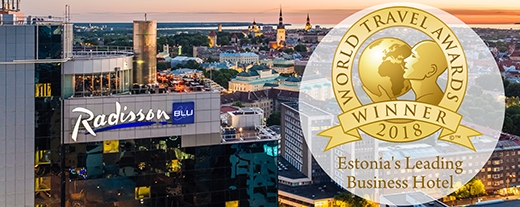 image: Radisson Blu Sky Hotel is Estonia's Leading Business Hotel 2018