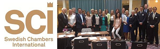 image: Welcome to meet the Swedish Chambers International