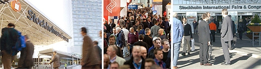 image: Upcoming 2018 Stockholmsmässan trade fairs