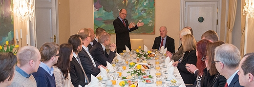 image: The Speaker of the Swedish Parliament visited Tallinn