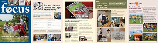 image: focus nr 2/2015 is now being printed and will soon appear in your postbox