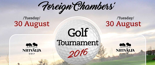 image: Foreign Chambers' Golf Tournament 2016