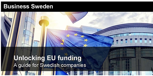Unlocking EU funding - A guide for Swedish companies
