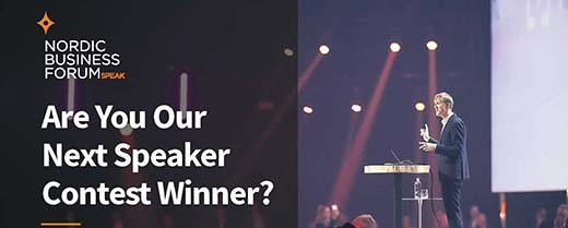 image: Speaker Contest 2020: Are you our next speaker?